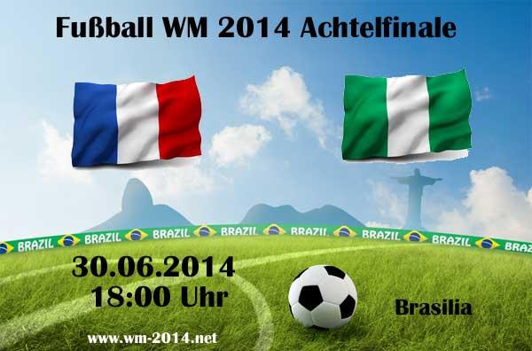 ZDF Live Stream: Frankreich gegen Nigeria um 18 Uhr