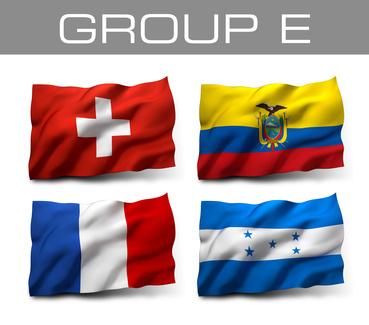 Brazil 2014 teams - Group E