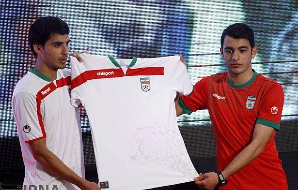 Iran 2014 WM Trikots 2