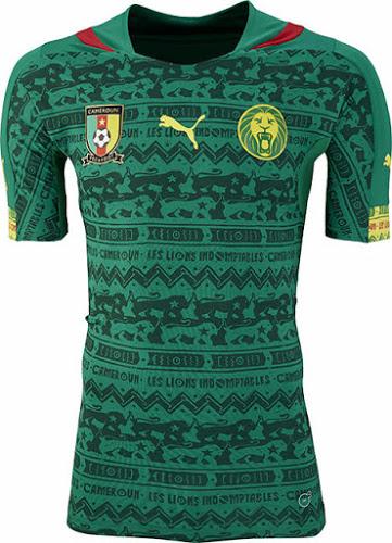 Kamerun 2014 WM Heimtrikot