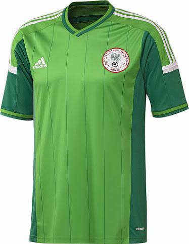 Nigeria2014WMHeimtrikot