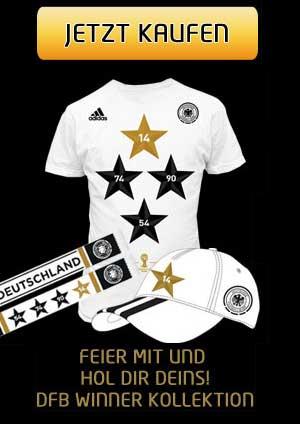 Das DFB-Trikot mit 4 Sternen kaufen