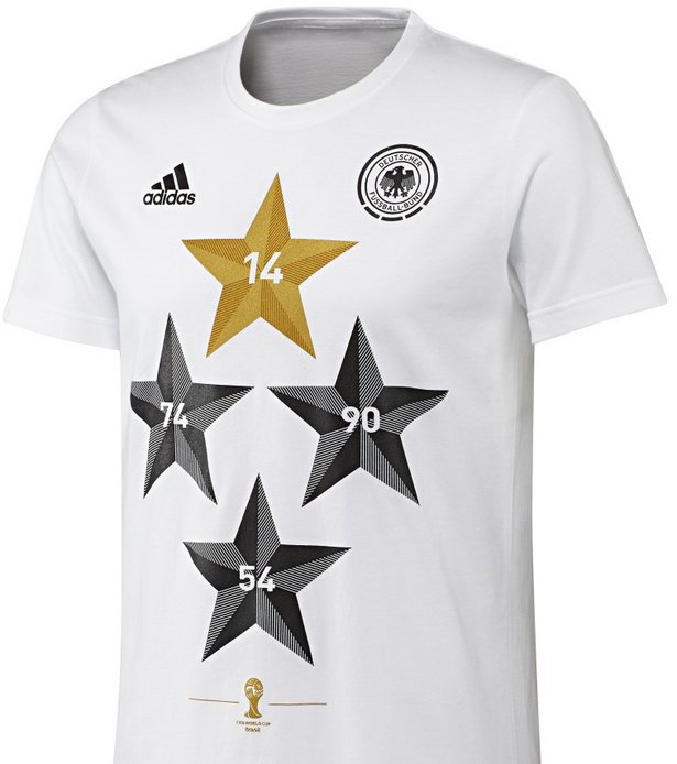 Coming Home DFB T Shirts : Weltmeister 4 Sterne T Shirts