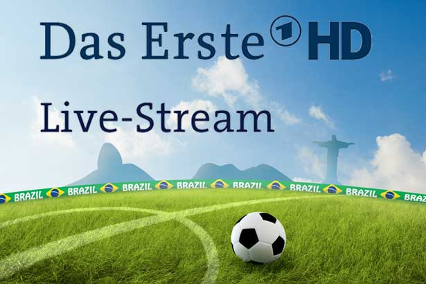 ARD Live stream: Brasilien gegen Kolumbien