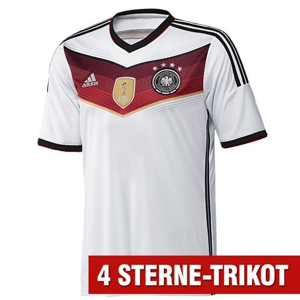 Neues DFB-Trikot mit 4 Sternen - jetzt bestellen!