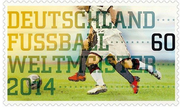 Weltmeister-Briefmarke