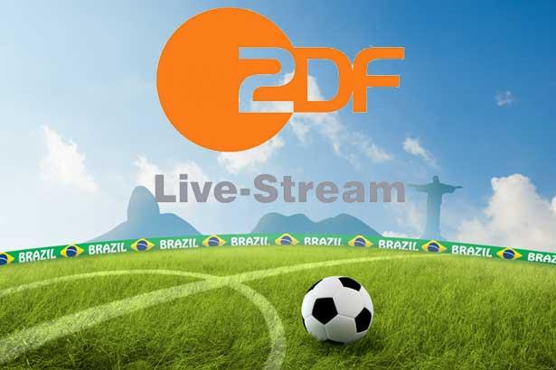 Alles zum ZDF Livestream heute Brasilien gegen Deutschland