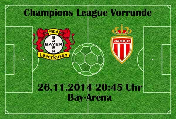 ZDF Livestream heute Abend: Leverkusen - AS Monaco