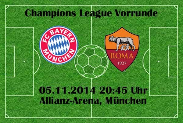 Bayern Munchen Heute Gegen As Rom 2 0 Zdf Livestream Heute
