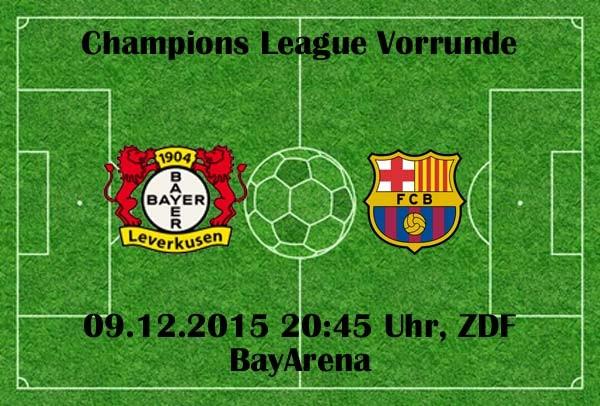 Fußball heute ZDF live: Bayern & Leverkusen am letzten Spieltag der CL Gruppenphase
