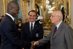 Balotelli Prandelli Italien