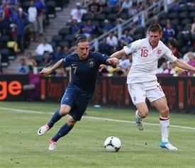 Franck Ribery (l.) soll Frankreich zur WM führen