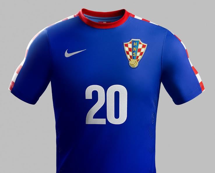Kroatien Auswärts Trikot