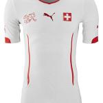 Schweiz 2014 Auswärtstrikot
