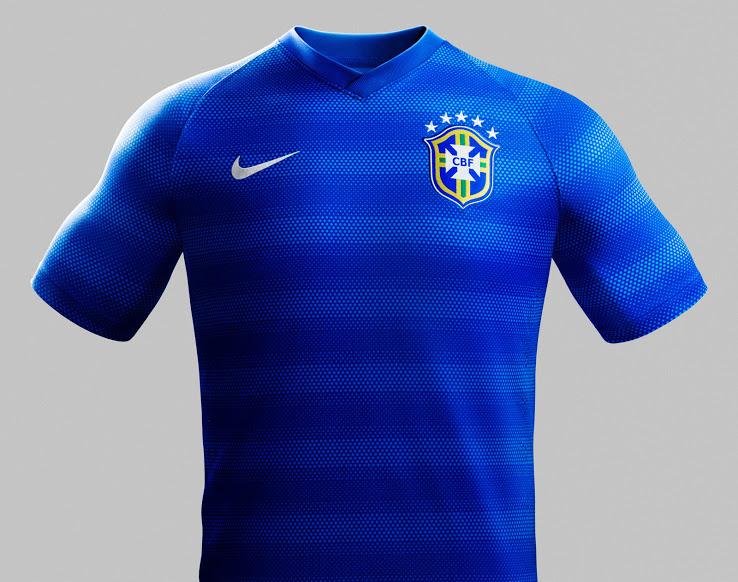 Brasilien Auswärts Trikot
