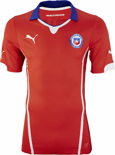 Chile Home Trikot