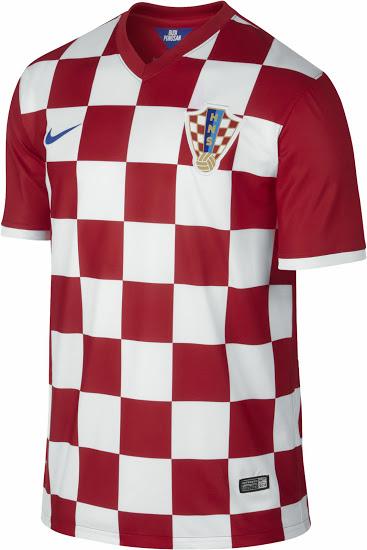 Kroatien Home Trikot