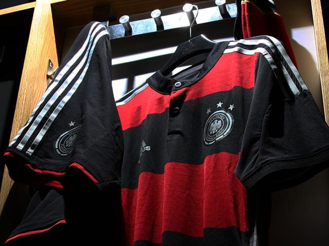 Deutschland Schwarzes Trikot